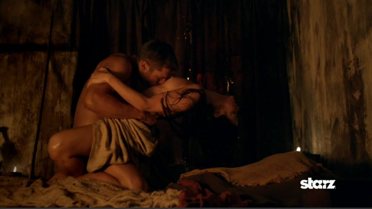 Katrina Law hot nude sex scene in Spartacus Vengeance