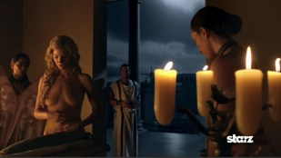 Katrina Law nude topless, Viva Bianca nude full frontal, Lucy Lawless nude in the bath and Various nude actress in orgy scene in - Spartacus Vengeance s2e1 hd720p