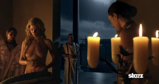 Viva Bianca nude topless in Spartacus Vengeance