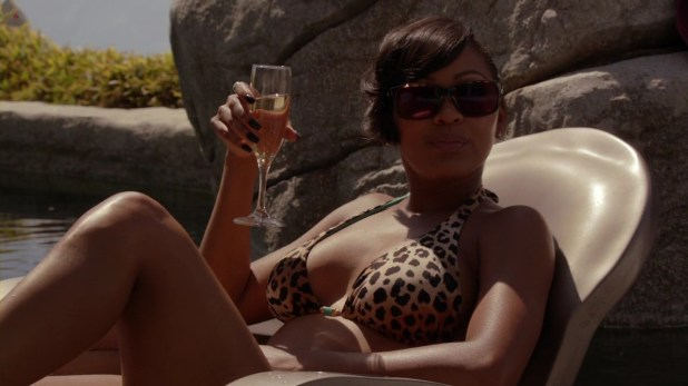 "Meagan Good hot in bikini from ""Californication"" (2012) s5e2 hd720p"