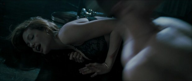 """Angelina Jolie not nude but very sexy in """"Mr & Mrs Smith"""" (2005) hd1080p"""