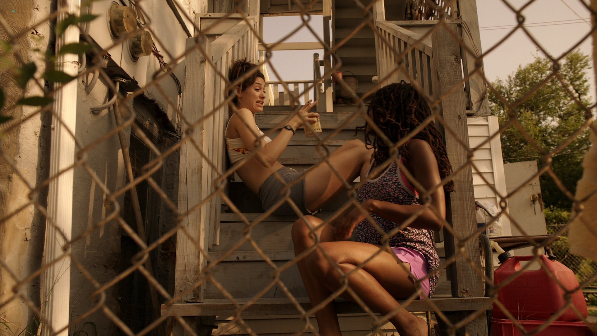Emmy Rossum nude topless Laura Wiggins nude sex - Shameless (2012) s2e1 HD 1080p BluRay (3)