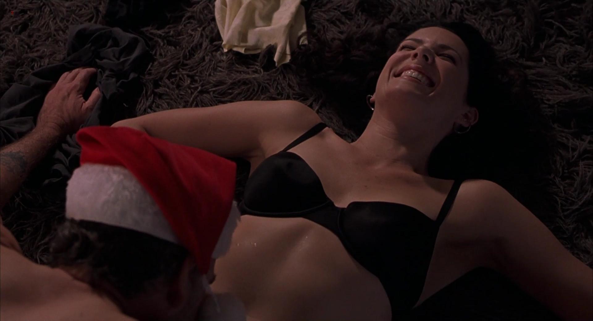 Lauren Graham hot and sexy in - Bad Santa (2003) hd1080p
