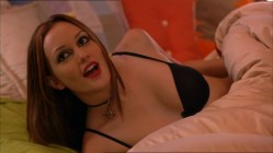 Leighton Meester hot in bra and panties in - Drive Thru (2007)