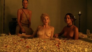 """Viva Bianca, Bonnie Sveen and Katrina Law all nude in """"Spartacus: Vengeance"""" s2e2 hd720p"""