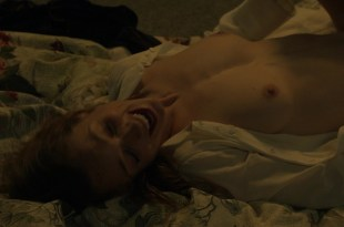 Kerry Condon nude topless and sex in – Luck s1e4 hd720p