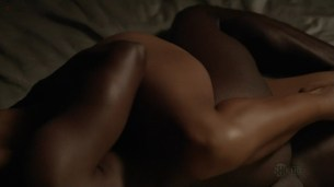 """Megalyn Echikunwoke nude topless and hot in """"House Of Lies"""" S1E6 hd720p"""