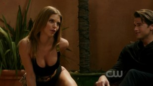 AnnaLynne McCord sexy huge cleavage in black lingerie - 90210 s04e18 hd720p