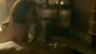 MyAnna Buring nude covered with paint and Claire Foy nude topless and sex in - White Heat (2012) s1e1 hd720p
