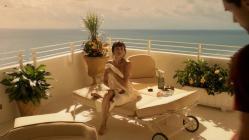 Olga Kurylenko naked shows her bare butt in -Magic City (2012) hd720p