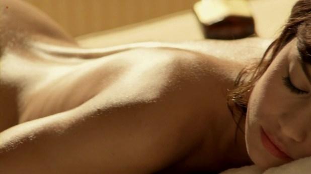 Olga Kurylenko naked shows her bare butt in Magic City (2012) hd720p