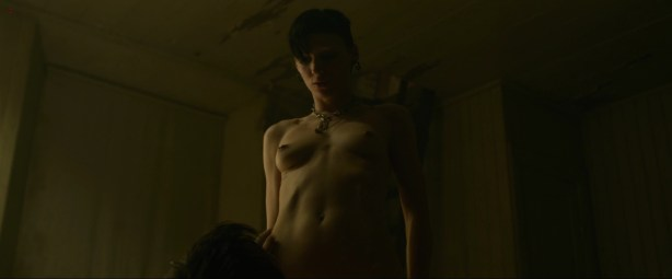 Rooney Mara naked rough sex oral and lesbian - The Girl with the Dragon Tattoo (2011) hd1080p (6)