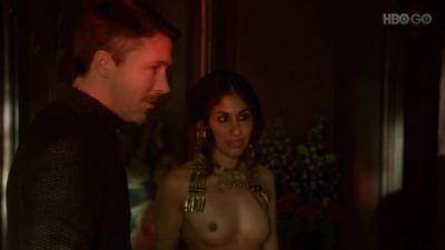 Carice van Houten nude bush, Sahara Knite and Amy Dawson nude sex- Game Of Thrones (2012) s2e2 HD 1080p (1)
