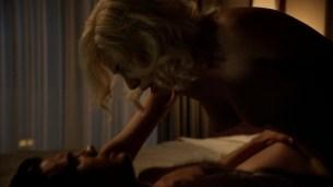 Jessica Marais naked seductive sex and great nude topless rack - Magic City s1e4 hd70p (16)