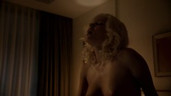 Jessica Marais naked seductive sex and great nude topless rack - Magic City s1e4 hd70p (15)