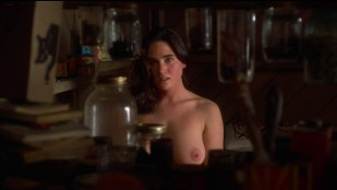 Jennifer Connelly nude topless in - Inventing the Abbotts (1997) hd1080p