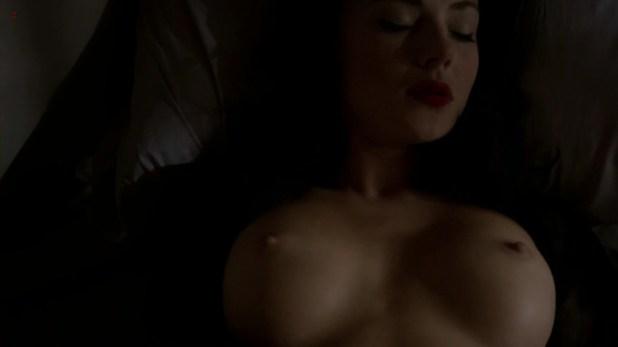 Jessica Marais naked seductive sex and great nude topless rack Magic City s1e4 hd70p