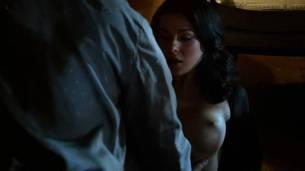 Jessica Marais naked seductive sex and great nude topless rack - Magic City s1e4 hd70p (7)