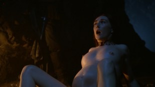 Carice van Houten nude pregnant and nude boobs from - Game Of Thrones s2e4 hd720p
