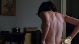 Alexis Bledel side boob and very hot from - Mad men s5e13 hd720p