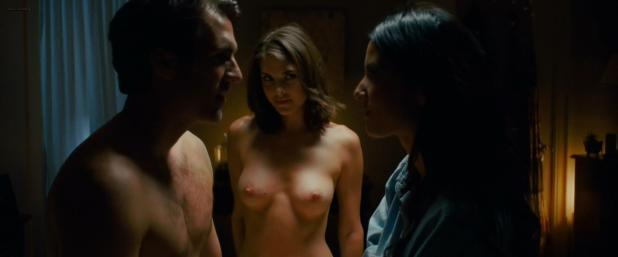 Olivia Munn hot sexy and Nikki Moore nude topless from - The Babymakers (2012) hd1080p