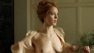Rebecca Hall nude topless - Parade's End s01e02 hd720p (3)