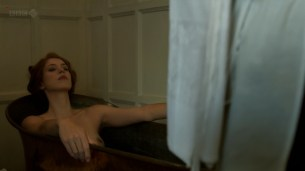 Rebecca Hall nude topless - Parade's End s01e02 hd720p (9)