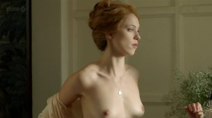 Rebecca Hall nude topless - Parade's End s01e02 hd720p (12)