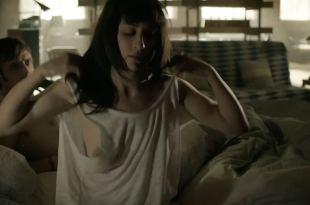 Morven Christie nude topless - Hunted (2012) s1e8 HD 720p (2)