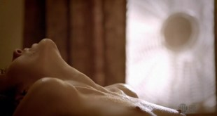 """Emmy Rossum nude topless in """"Shameless"""" s3e5 (2013) hd720p"""