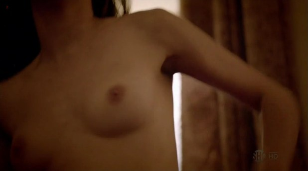 "Emmy Rossum nude topless in ""Shameless"" s3e5 (2013) hd720p"