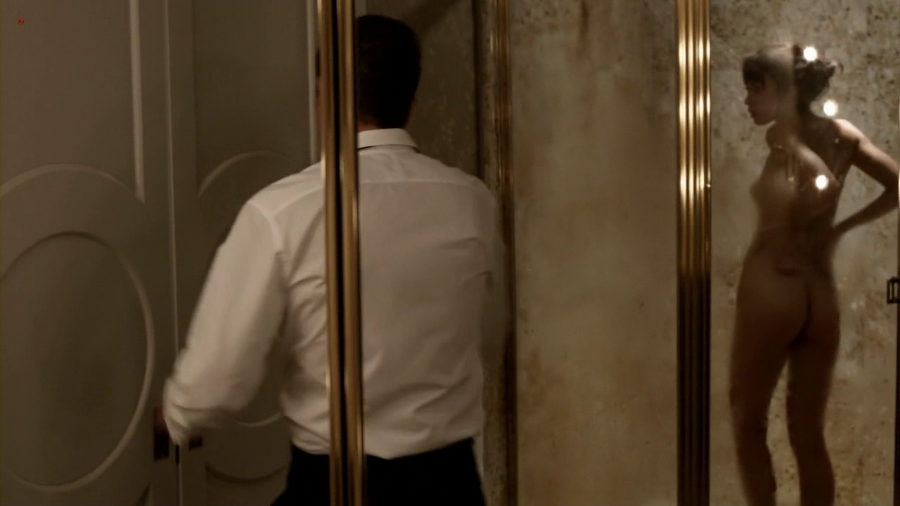 "Olga Kurylenko naked in the shower in ""Magic City"" s1e6 hd720p"
