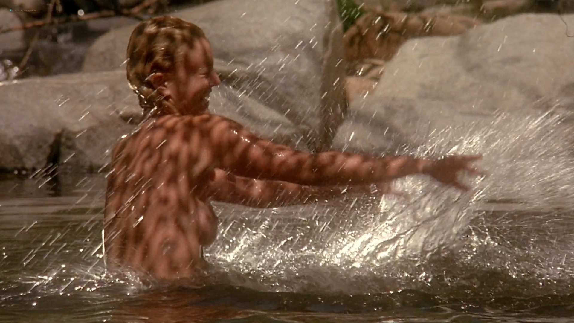 Drew Barrymore nude topless and skinny dipping - Bad Girls (1994) HD 1080p BluRay (8)