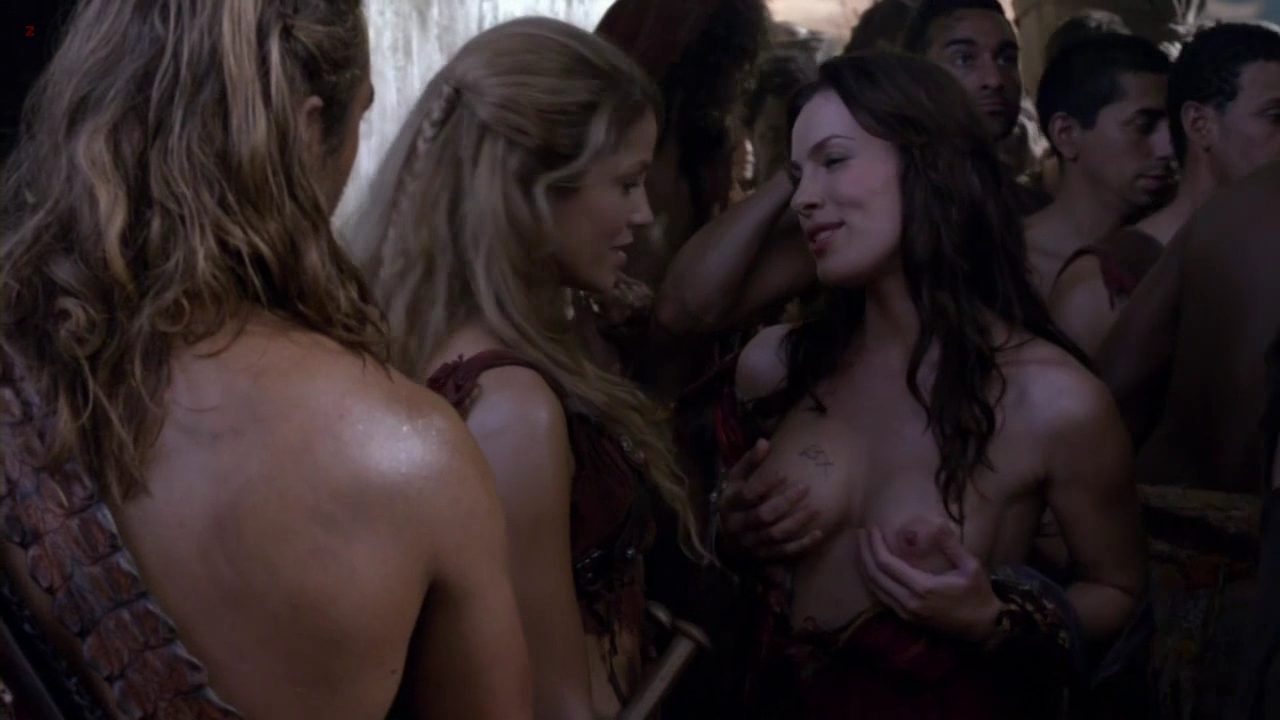 """Candy Yuen Nude Cool luna rioumina, jenna lind all nude and hot in """"spartacus"""" s3e4"""