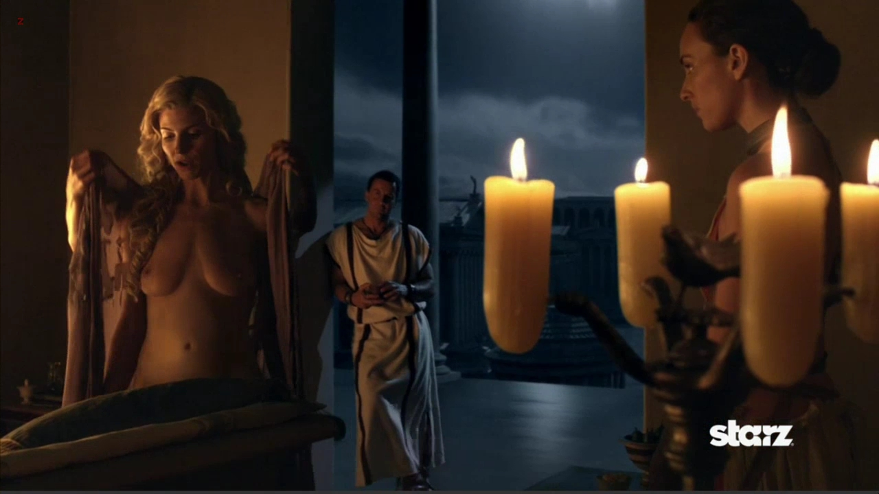 Viva Bianca nude topless and full frontal in - Spartacus Vengeance 2x1 hd72p