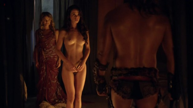 "Ellen Hollman and Gwendoline Taylor ""Spartacus"" (2003) s3es hd1720p full frontal nude"