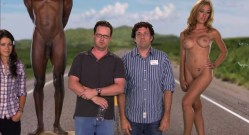 Capri Cavalli naked full frontal nude and bush - Sex Drive (2008) hd1080p