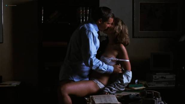 Greta Scacchi butt naked and sex on the table - Presumed Innocent (1990) HD 1080p (9)