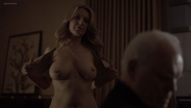 Hannah Ware nude hot sex and Jennifer Mudge nude topless Boss s1e3 HD 1080p (5)