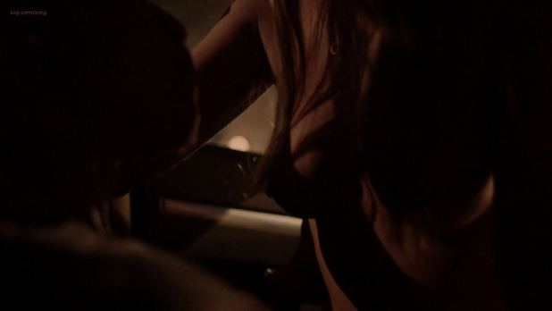 Hannah Ware nude topless sex in the car from Boss (2012) s1e4 hd1080p (4)