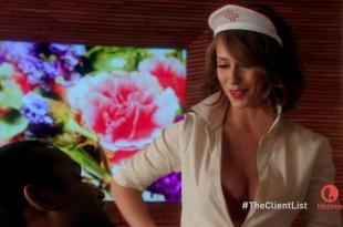 """Jennifer Love Hewitthot as sexy nurse from""""Client List"""" S02E03 (2013) hd720p"""