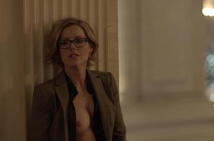 Kathleen Robertson nude topless and quickie sex from Boss s1e2 hd1080p