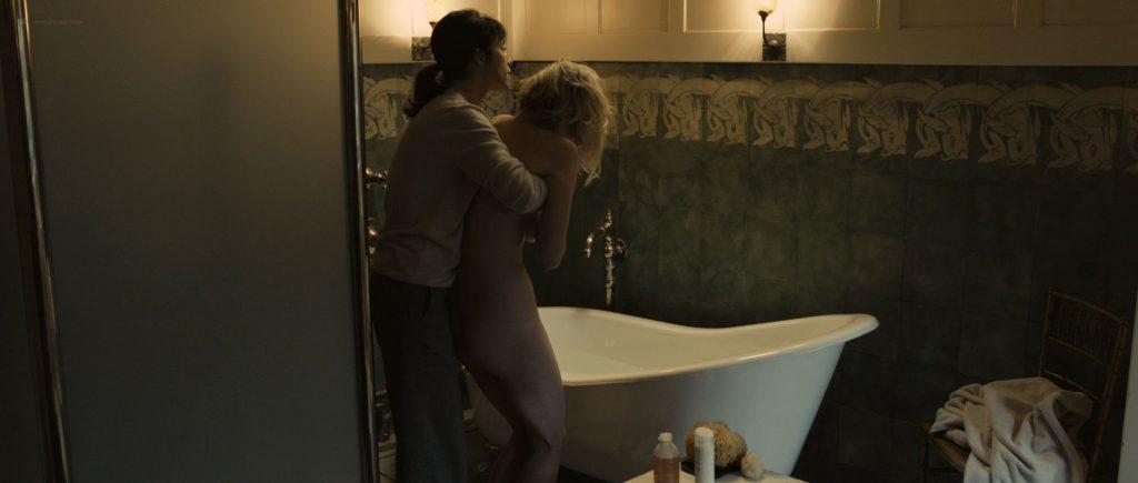 Kirsten Dunst nude topless in Lars von Trier's - Melancholia (2011) HD 1080p BluRay (11)