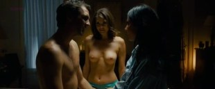Olivia Munn hot sexy and Nikki Moore nude topless Helena Masstsson nude topless - The Babymakers (2012) hd1080p