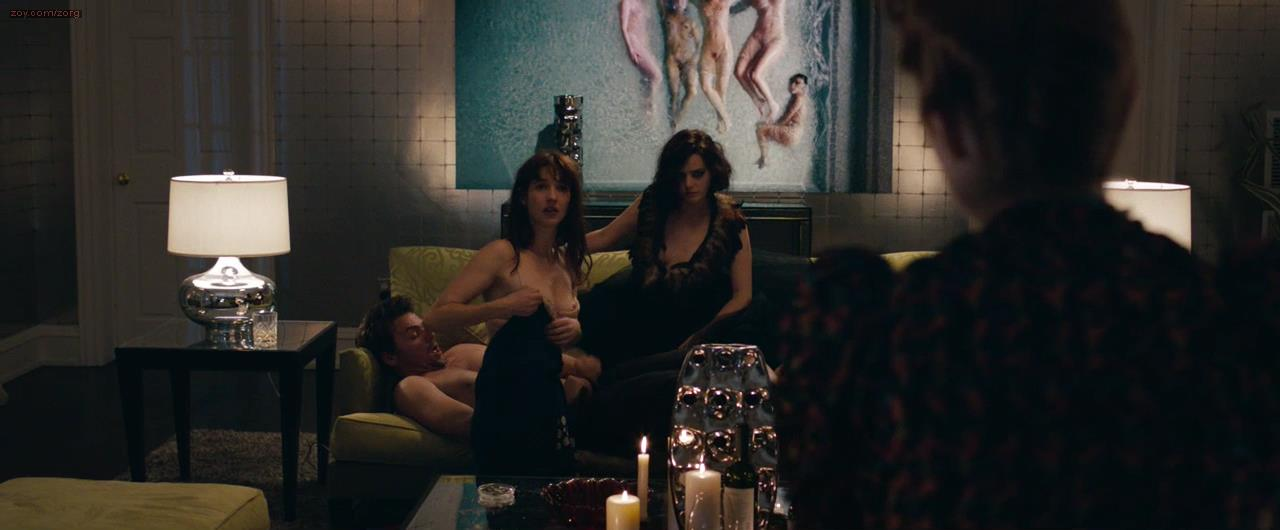 "Roxane Mesquida naked and sex threesome great nude topless scene ""Kiss of the Damned (2012)"""