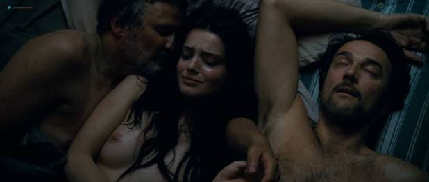 Roxane Mesquida naked and threesome sex from - Sennentuntschi (2010) HD 1080p BluRay (5)