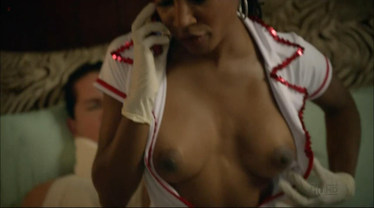 Shanola Hampton nude topless from Shameless s3e9 (2013) hd720p