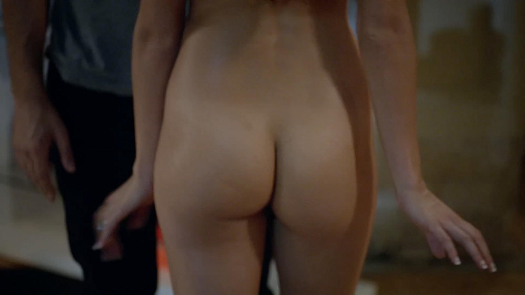 Stephanie Fantauzzi butt naked and topless - Shameless s3e7 (2013) HD 1080p (4)