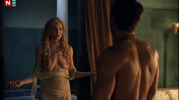 Viva Blanca naked and sex action from Spartacus Vengeance 2e3 hd720p