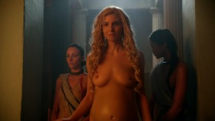 Viva Bianca and Lucy Lawless nude topless and Cynthia Addai-Robinson nude and hot sex in - Spartacus s2e6 hd720p